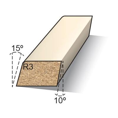 Koplatten model halve B